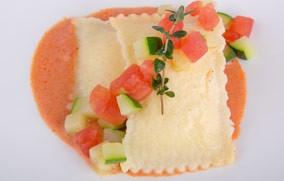 Sun Dried Tomato & Goat Cheese Ravioli