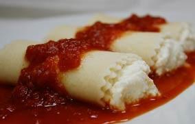 Cheese Manicotti